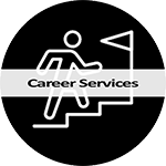 Career Services icon and link