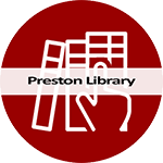 Preston Library icon and link