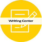 Writing Center icon and link