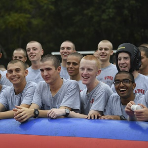 Cadets at Rat Picnic