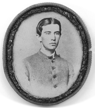 Black and white portrait  of Cadet Smith